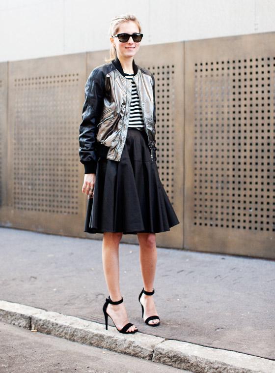 Marina Larroude rewearing an outfit