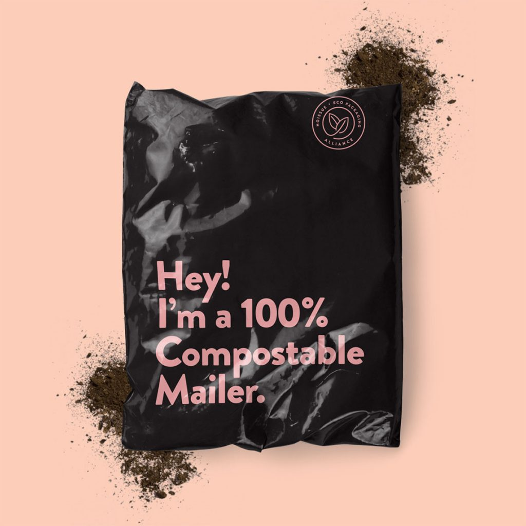 Noissue commits to 100% compostable, sustainable packaging