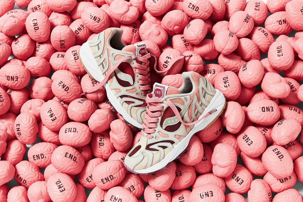END. X Saucony Azura 2000 sneakers