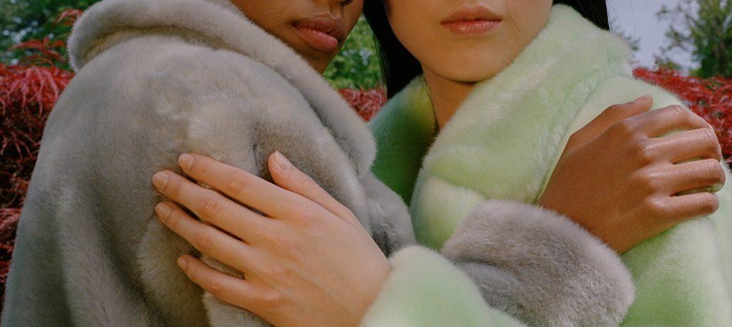 Tibi Fur Coat Collection
