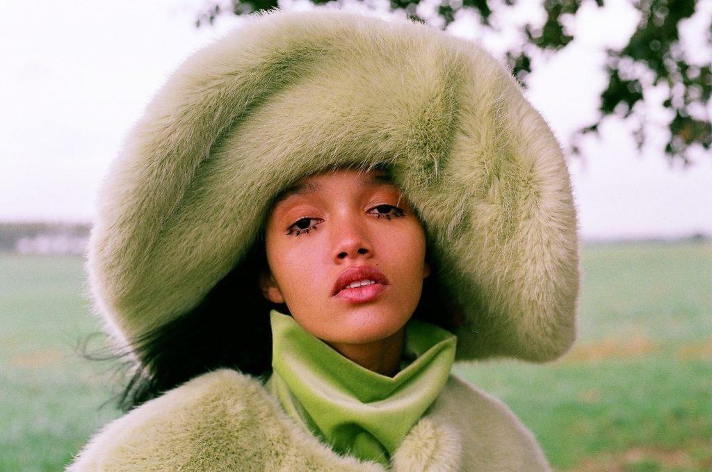 Vegan Green Fur