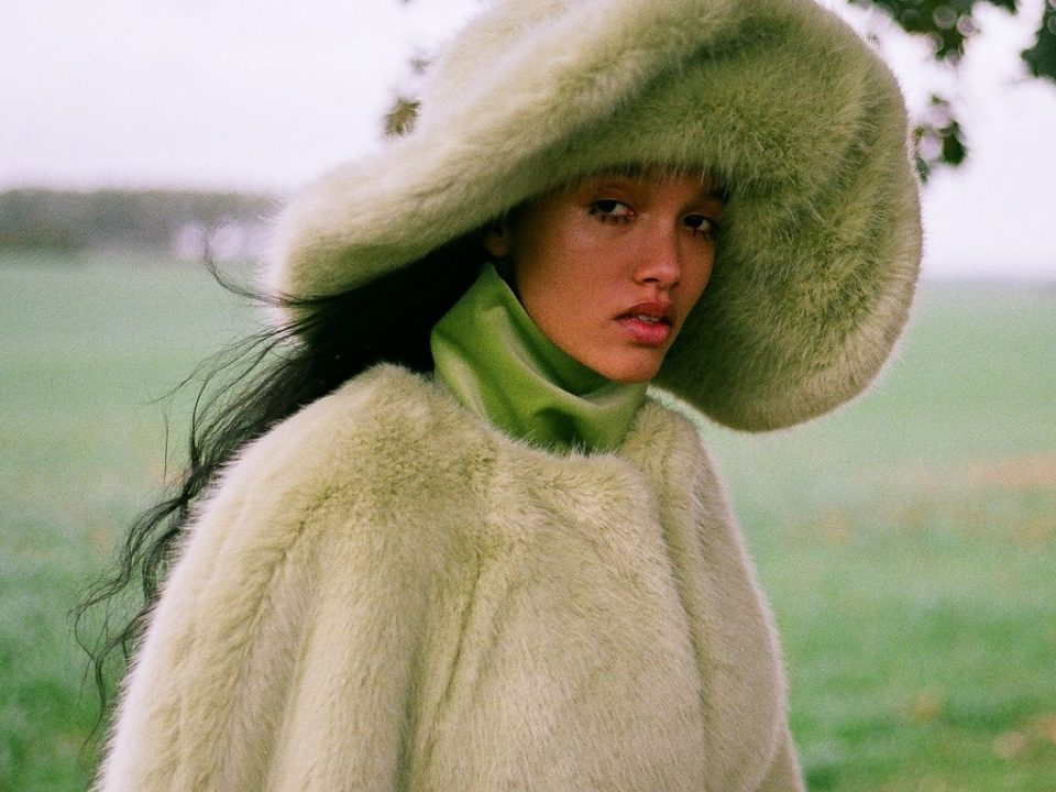 Fur Vegan Coat