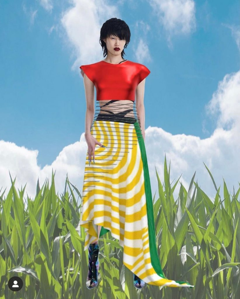 Virtual dress